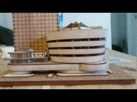 Salomon R. Guggenheim Museum NY. Maqueta2012