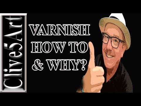 VARNISH,TYPES OF VARNISH, Acrylic painting for beginners,