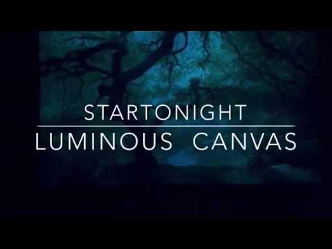 Startonight Maple Tree Luminous Canvas