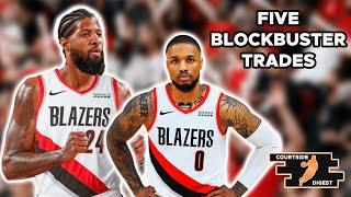 Download Five BLOCKBUSTER Trades for the Portland Trailblazers to Help Damian Lillard