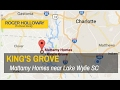 King's Grove Homes for Sale near Lake Wylie SC from Mattamy