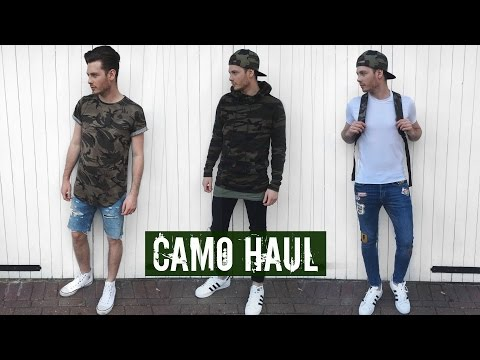 How To Style Camo #ad - Mens Fashion Summer Outfits 2017
