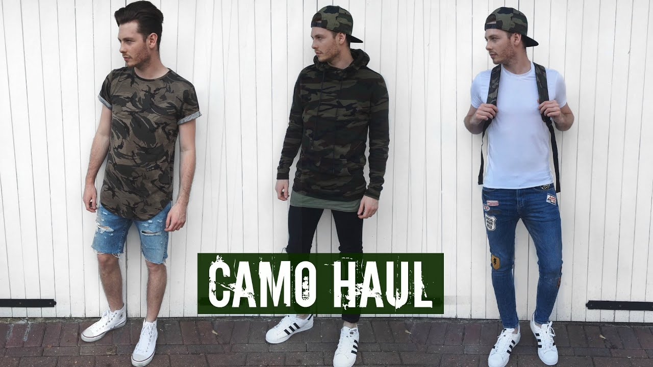 How To Style Camo Ad Mens Fashion Summer Outfits 2018 Youtube