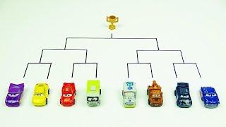 Cars 3 Toys Crazy 8 Demolition Derby Mini Racers Tournament Lightning McQueen Jackson Storm Cruz