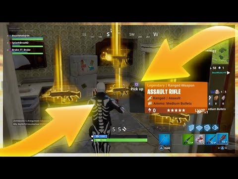 NEW SECRET LOOT SPOTS ! LEGENDARY SCARS + CHUG JUGS ! BEST HIDDEN IN FORTNITE BATTLE ROYALE daily