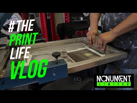 Screen Printing T Shirts | Working With A Used Screen Printing Machine