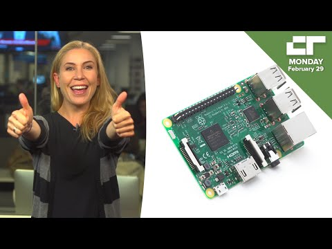 Raspberry Pi 3 Is Better Than Ever And Still $35 | Crunch Report