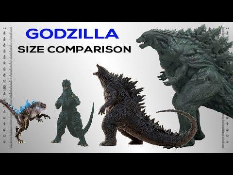 Godzilla Size Comparison