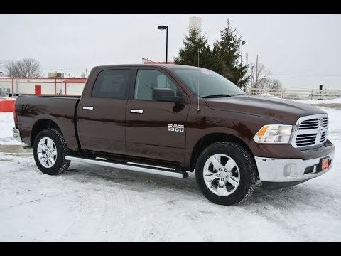 2014 ram 1500 slt truck brown for sale dealer dayton troy piqua sidney ohio 26940t youtube. Black Bedroom Furniture Sets. Home Design Ideas