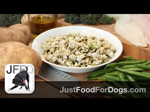Daily Recipes For Dogs: Fish & Sweet Potato | JustFoodForDogs