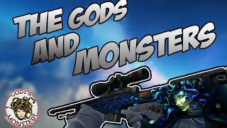CS:GO - The Gods and Monsters Collection Skins Showcase [In game]