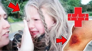 ACCIDENT IN THE PARK BRINGS TEARS!