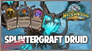 Splintergraft Druid | Extended Gameplay | Hearthstone | The Witchwood