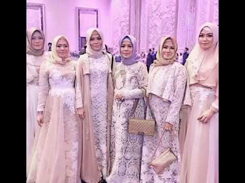 Gamis Modern Untuk Pesta Pernikahan Baju Gamis Modern 2017 Terbaru