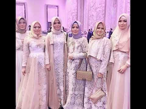 Image Result For Model Gamis Brokat Trend