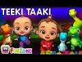 The Teeki Taaki Song | Sing & Dance Songs for Babies | ChuChu TV Funzone 3D Nursery Rhymes