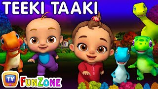 The Teeki Taaki Song | Sing & Dance Songs for Babies | ChuChu TV Funzone 3D Nursery Rhymes