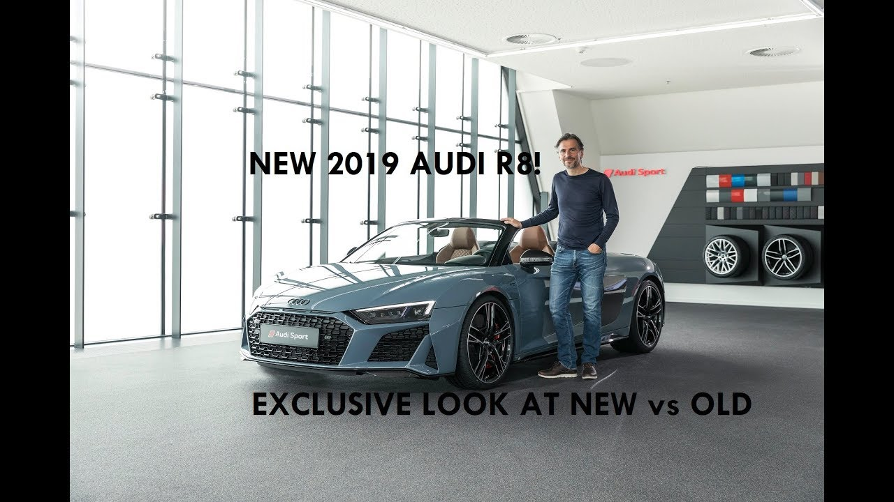 Garage Audi Tours New Audi R8 Exclusive Old Vs New Comparison