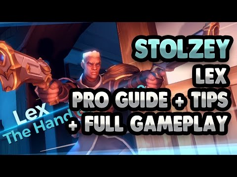 Lex Pro Guide + Tips – New Paladins Champion Full Gameplay – stolzey