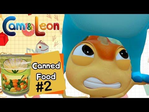Hilarious Children Cartoon | Canned Food #2 | Cam & Leon