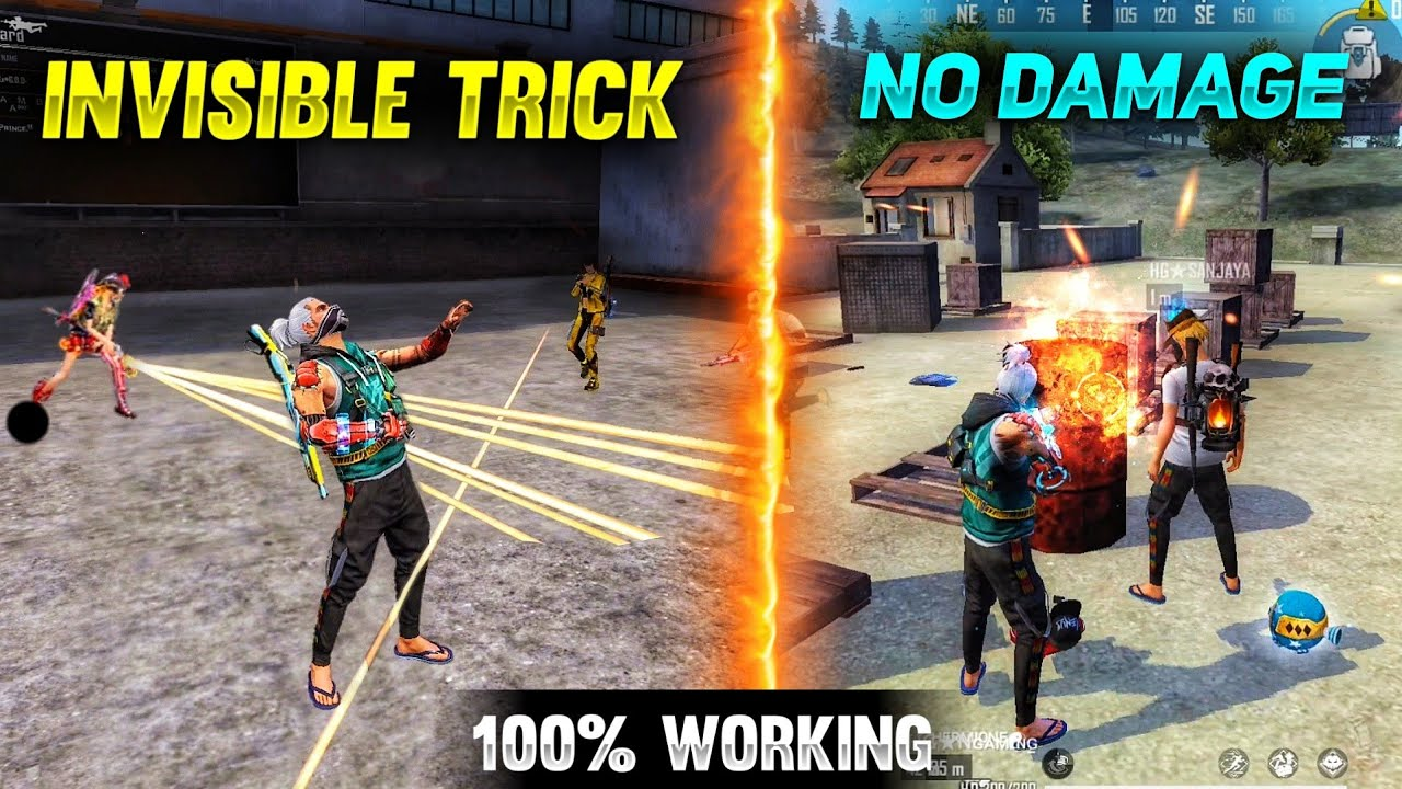 Download Top 5 New Unknown Tricks in free fire    No Damage in oil Barrel 😱 in Garena free fire