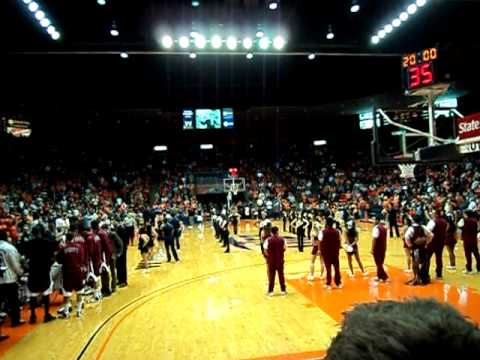 UTEP NMSU BASKETBALL INTROS
