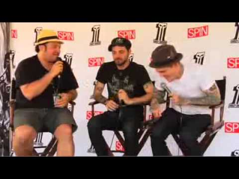 The Gaslight Anthem interview with SPIN Magazine at Bonnaroo