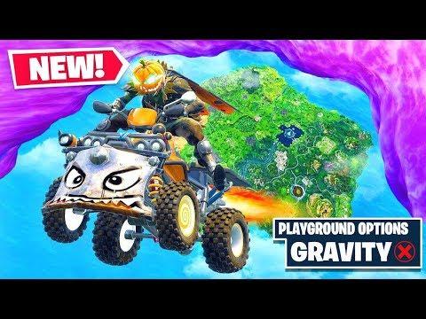 *NEW* QUADCRASHER Gravity Glitch in Fortnite Battle Royale!