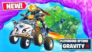 *NEW* QUADCRASHER Gravity Glitch in Fortnite Battle Royale!