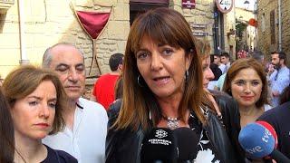 """Mendia: La """"oferta"""" del PP vasco se basa en """"seguir cavando trincheras"""""""