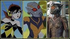 Wasp Evolution in Movies & Cartoons (Janet van Dyne/Hope van Dyne) (2018)