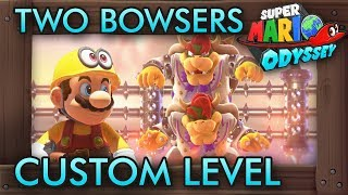 Fighting Two Bowsers At Once Custom Challenge - Super Mario Odyssey Maker