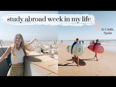 A *real* week in my life as a study abroad student in Cádiz, Spain