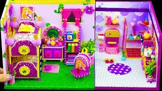 DIY Miniature Rapunzel Dollhouse ~ Bedroom and Bathroom