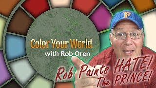 Rob Paints HATE! The Prince! Color Your World April 24, 2019