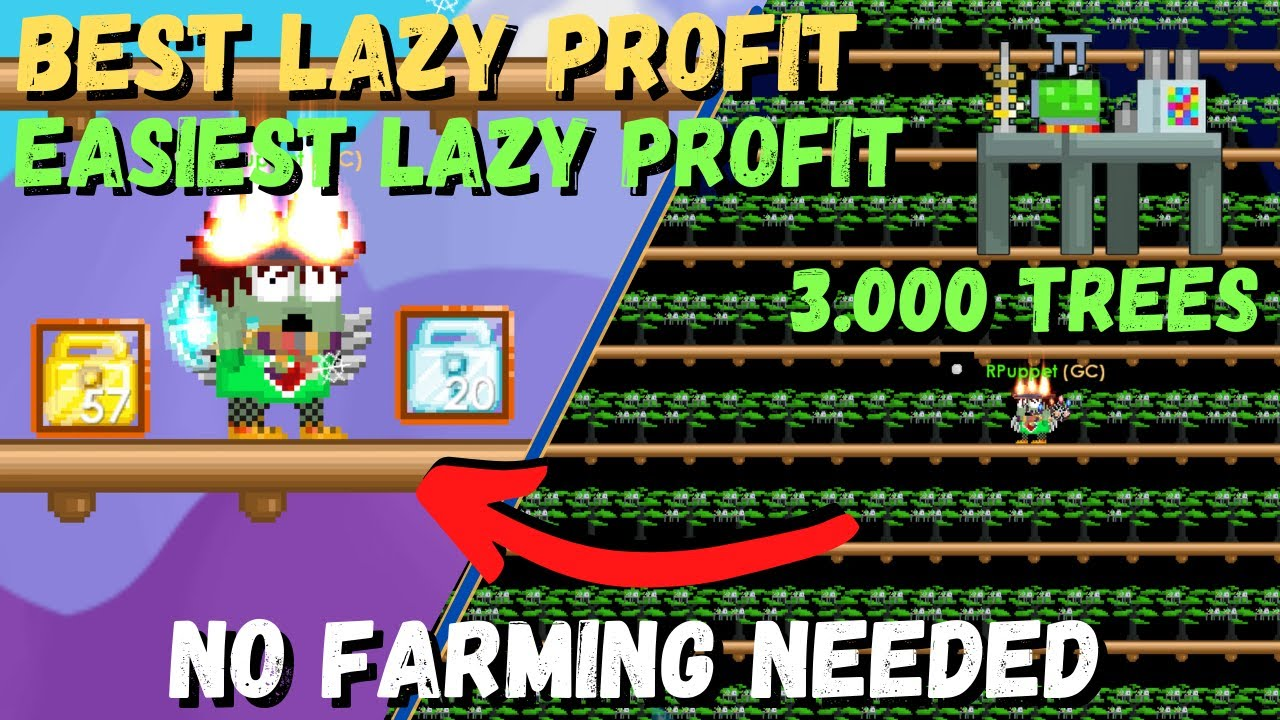 Download BEST LAZY PROFIT WITH SCIENCE STATION‼️ [FULL GUIDE] 100% WORKS - GROWTOPIA LAZY PROFIT 2021
