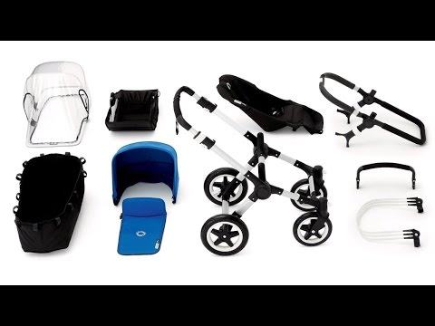 bugaboo buffalo demo – assembly with bassinet and seat