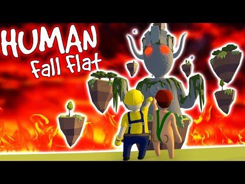 VI ÖPPNAR EN PORTAL I HUMAN FALL FLAT
