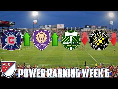 MLS Matchweek 6 Power Rankings