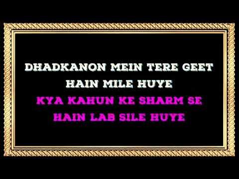Dekha Ek Khwab   Male Karaoke (duet) With Female Voice   Sanya Shree❤️