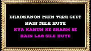 Dekha Ek Khwab | Male Karaoke (duet) With Female Voice | Sanya Shree❤️