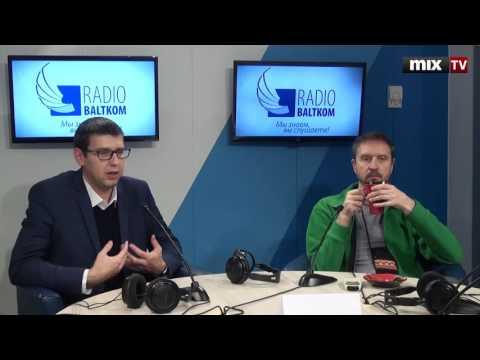 """Мартиньш Аузиньш и Нормунд Бергс в программе """"Семь дней и ночей"""" #MIXTV"""