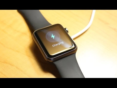 Apple Watch Magnetic Charger Demo