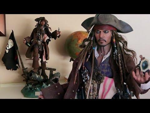 Unboxing Hot Toys Jack Sparrow Figure (DX15 Dead Men Tell No Tales)