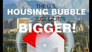 Housing Bubble just got BIGGER, Record High Median Home Price, Investors Heavy Buying Video