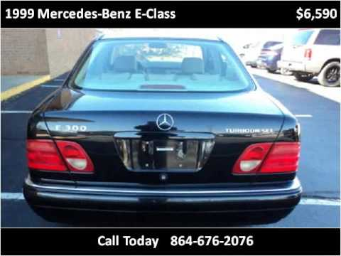 1999 Mercedes-Benz E-Class Used Cars Greenville SC - YouTube