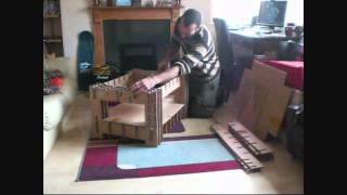 Cardboard Coffee Table Construction
