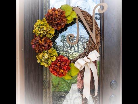 Monogram Grapevine Wreath in Under 30 Minutes