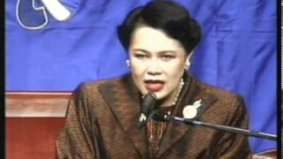 Repeat youtube video พระราชินีมีพระราชดำรัสกับคนไทยในสหรัฐอเมริกา