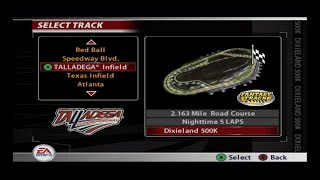 NASCAR 2005: Chase for the Cup - A Lap at Talladega Road Course